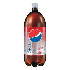 Diet Cherry Pepsi - 2 Liter - Case of 6