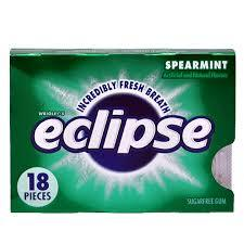 Eclipse Gum - Spearmint - 8 Count/18 pieces