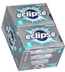Eclipse Gum Polar Ice 8 Count/18 pieces