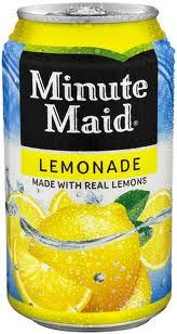 Minute Maid Lemonade 12 oz cans Case of 24
