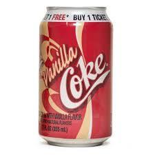 Vanilla Coke - 12 oz - Case of 24