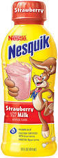 Nesquik 14 oz - Strawberry - Case of 12