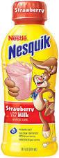 Nesquik 14 oz - Strawberry - Case of 12