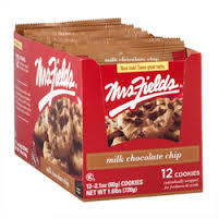 Mrs Fields Milk Chocolate Cookies - 12 Count