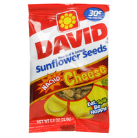 David's Sunflower Seeds Nacho 30 Cent