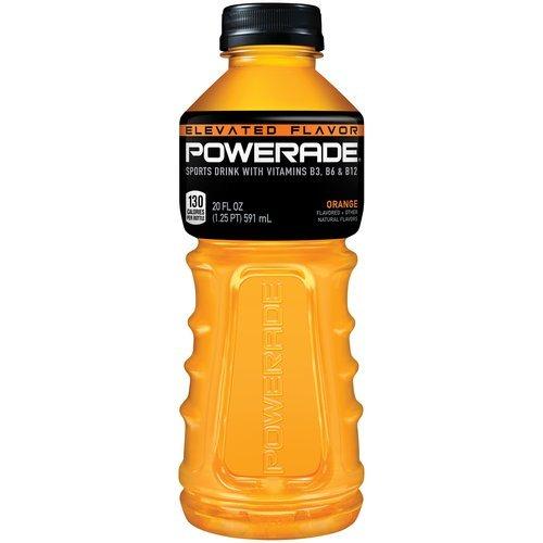 Powerade Orange - 20 oz - Case of 24