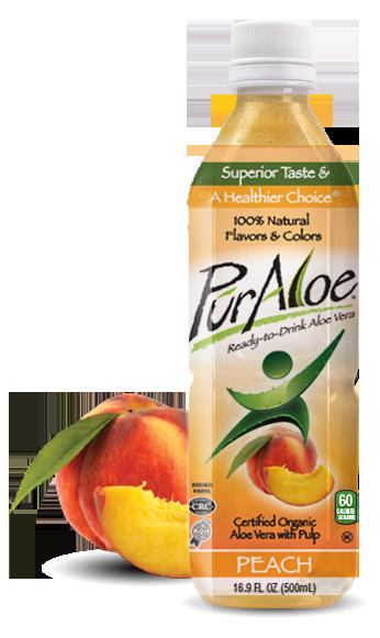 Pur Aloe Water Peach 24/16.9 oz