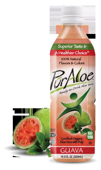 Pur Aloe Water Guava 24/16.9 oz