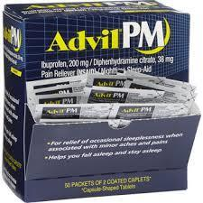 Advil PM 50/2 count