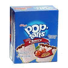 Kellog's Pop Tarts - Cherry 6/2 packs