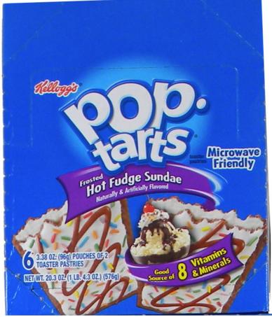 Kellog's Pop Tarts - Ice Cream Sundae 6/2 packs