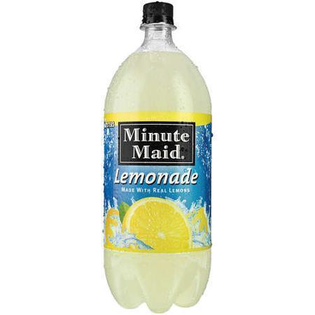Minute Maid Lemonade - 2 Liter - Case of 8