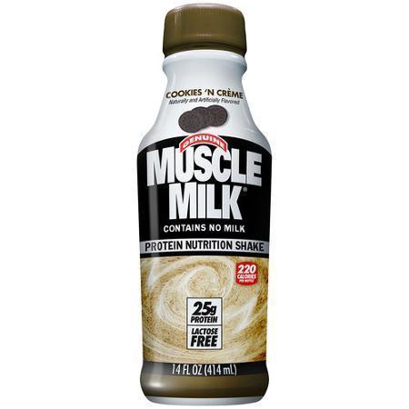 Muscle Milk- Cookies & Cream 12/14 oz.