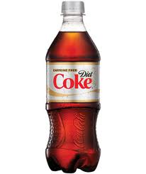 Caffiene Free Diet Coke - 20 oz - Case of 24