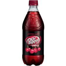 Cherry Dr. Pepper - 20 oz - Case of 24