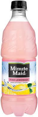 Minute Maid Pink Lemonade - 20 oz - Case of 24