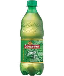 Seagrams Ginger Ale - 20 oz - Case of 24