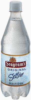Seagrams Seltzer - 20 oz - Case of 24