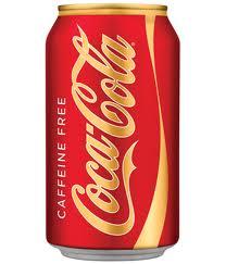 Caffiene Free Coke - 12 oz - Case of 24