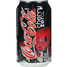 Cherry Coke Zero - 12 oz - Case of 24