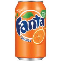 Fanta Orange - 12 oz - Case of 24
