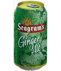 Seagrams Ginger Ale - 12 oz - Case of 24