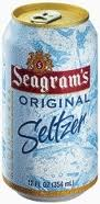 Seagrams Seltzer - 12 oz - Case of 24