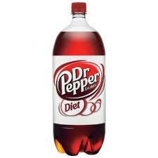 Diet Dr. Pepper - 2 Liter - Case of 8