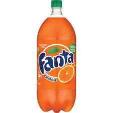 Fanta Orange - 2 Liter - Case of 8