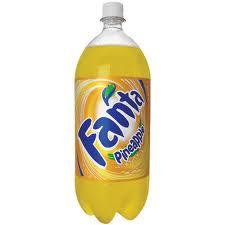 Fanta Pineapple - 2 Liter - Case of 8