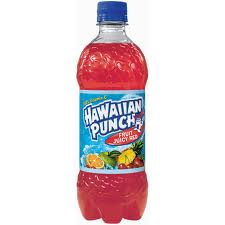 Hawaiian Punch Red - 20 oz - Case of 24