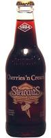 Stewarts Cherry Cream -  12 oz. Glass Bottles - Case of 24