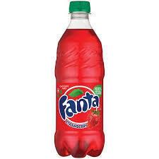 Fanta Strawberry - 20 oz - Case of 24