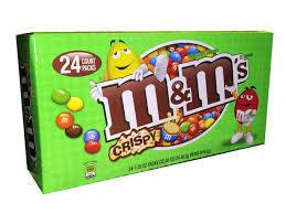 M&M Crispy - 24 Count