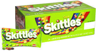Skittles Sour (Green) - 24 Count