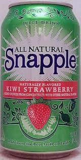 Snapple 11.5 oz (cans) - Kiwi Strawberry - Case of 24