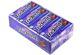 Trident Value Pack Gum - Blueberry