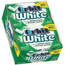Orbit White Gum - Spearmint - 12 Count