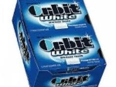 Orbit White Gum - Peppermint - 12 Count