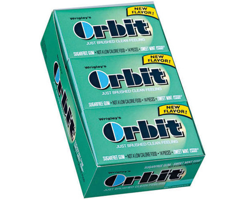 Orbit Regular Gum - Sweet Mint - 12 Count