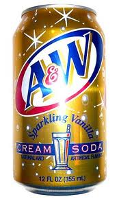 A&W Cream 12 oz (cans) - Case of 24