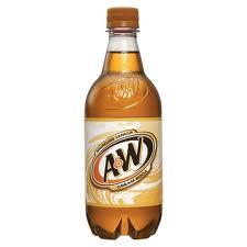 A&W Cream  20 oz -  Case of 24