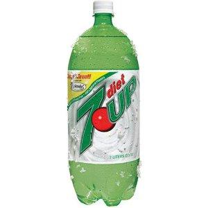 Diet 7-Up 2 Liter - Case of 6