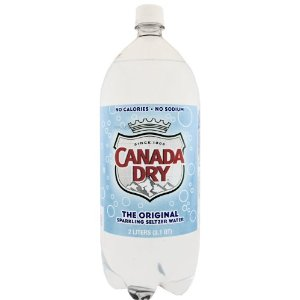 Canada Dry Seltzer 2 Liter K.F.P. Case of 6