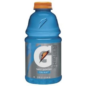 Gatorade 32 oz - Cool Blue Raspberry - Case of 12