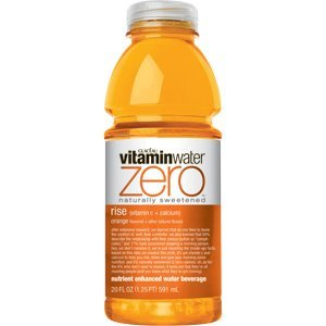 Glaceau Vitamin Water 20 oz - Diet Rise (Orange) - Case of 24