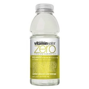 Glaceau Vitamin Water 20 oz - Diet Squeezed (Lemonade) - Case of 24