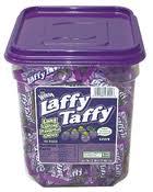 Laffy Taffy Tubs Grape Case of 145