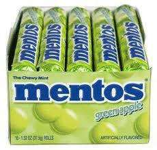 Mentos - Apple - 15 Count