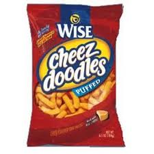 Wise Puffed Cheez Doodles 72 count
